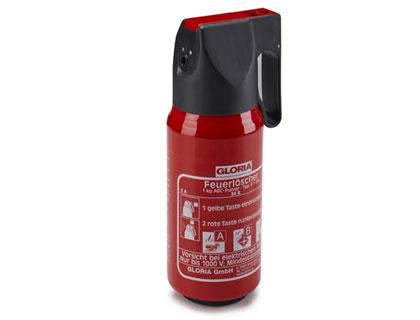 Extintor 1 kg de polvo ABC (PL-9/02), rotulación alemana