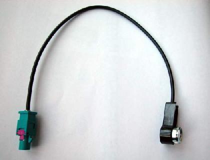 Adaptador para antena de vehículo FAKRA a ISO