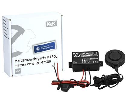 Dispositivo antirroedores K&K M7500 ultrasonido, carrocería del vehículo