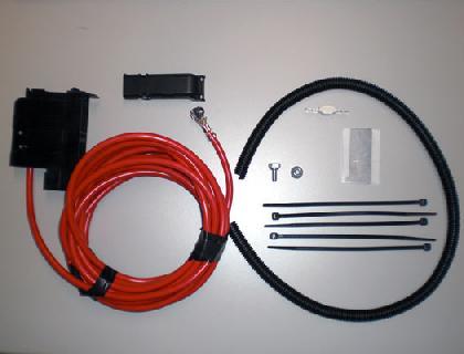 Juego de ampliación para juego de montaje eléctrico Vehículos sin segunda batería (PR-8FA)