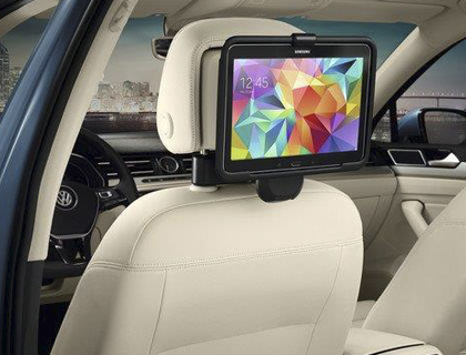 Soporte para tablet (sistema Viaje y Confort) para Samsung Galaxy Tab 3/4 10,1