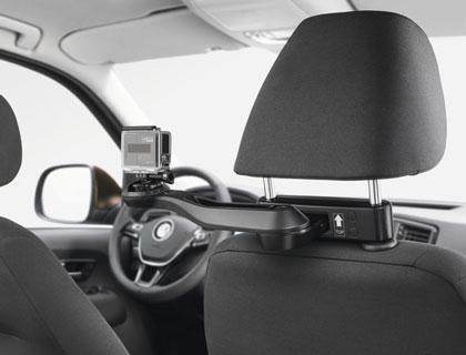 Soporte para cámara de acción (sistema de viaje y confort) Orientable 360 grados