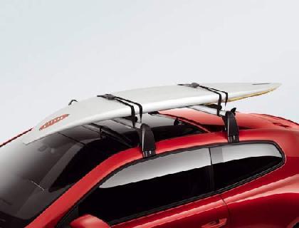 Portatablas de surf para 1 tabla de surf con máx. 2 mástiles