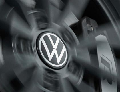 Tapacubos para llanta de aleación ligera dinámicas, con logotipo vertical cuando el vehículo está en marcha, nuevo logo VW