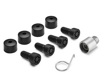 Perno de seguridad de rueda M14 x 1,5 x 27, negro