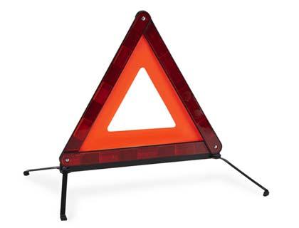 Triángulo de señalización compacta, abatible, ECE-27