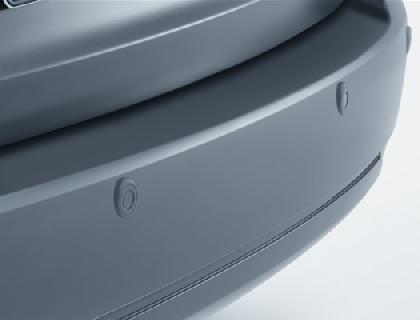 Control de distancia de aparcamiento, trasero 4 sensores, función de advertencia acústica