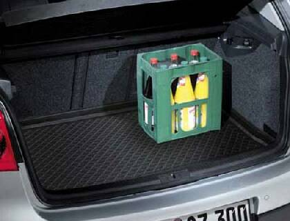 Bandeja para maletero solo con superficie de carga elevada
