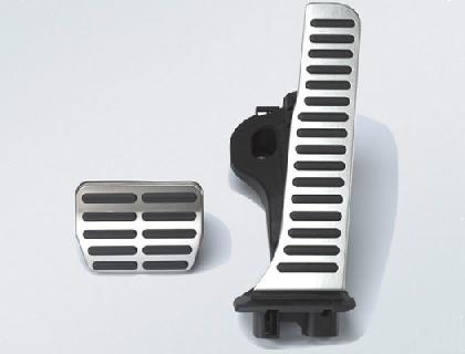 Recubrimientos de pedales Vehículos con DSG, con volante a la izquierda