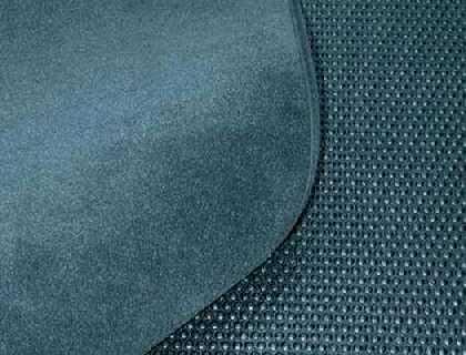 Estera reversible para maletero Terciopelo / plástico, color: soul