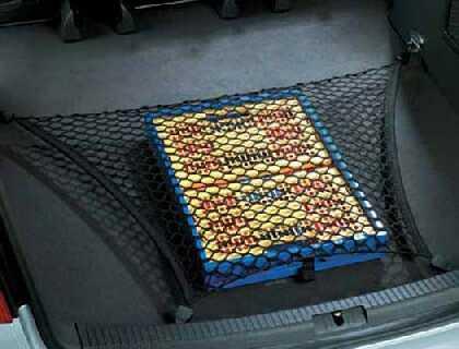Red de equipaje para superficie de carga elavada