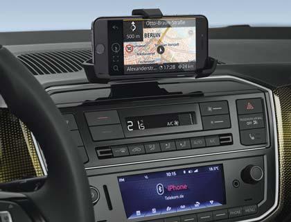 Adaptador para teléfono móvil Universal, tablero de instrumentos, incl. activación «Maps + More dock»