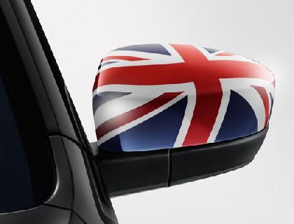 Caperuza de espejos «Union Jack»