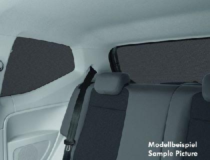 Parasol (kit) ventanillas de puerta trasera derecha e izquierda, luneta trasera, fija, 4 puertas