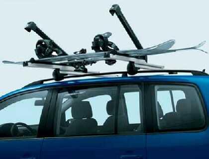 Sujetaesquíes/sujeta-tablas de snowboard comfort, para 6 pares de esquíes o 4 tablas de snowboard