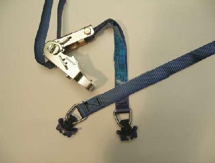Cinturón Con cierre de carraca tensora