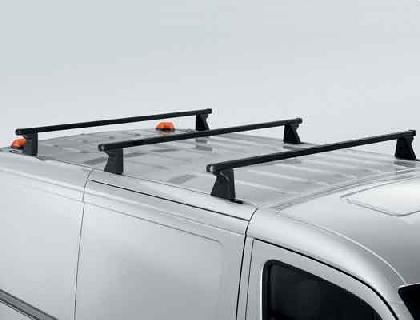 Portacargas básico Juego de ampliación, perfil rectangular de 30x20mm, vehículos con sistema de guías en el techo