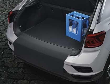 Estera reversible para maletero Terciopelo/motas plásticas, vehículos con superficie de carga variable