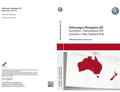 Tarjeta SD para sistema de radionavegación AZ Australia / Nueva Zelanda (V4)