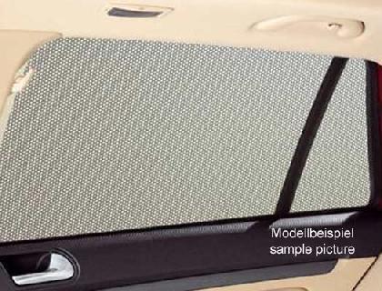 Parasol para cristales laterales ventanillas de puerta trasera, derecha e izquierda, fijas