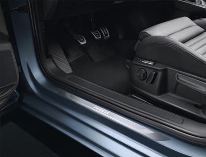 Listón de acceso Aluminio, para puertas delanteras
