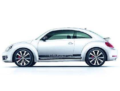 Lámina decorativa Volkswagen, negro