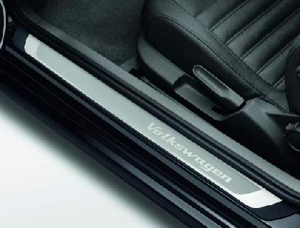 Listón de acceso Acero inoxidable, con inscripción Volkswagen