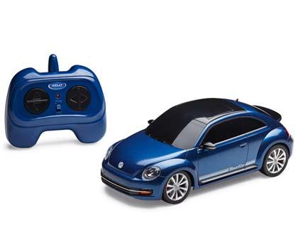 Vehículo a escala teledirigido 1:24, Beetle, azul, Colección infantil