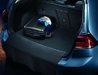 Estera reversible para el maletero Motas de plástico/terciopelo