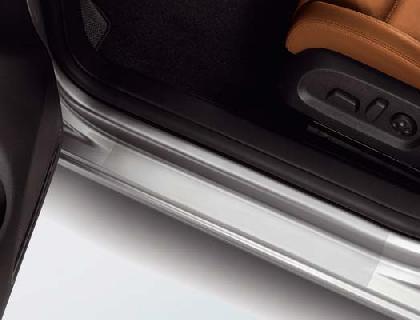 Lámina protectora para listones de acceso traseros, transparentes