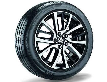 Rueda completa para verano 225/45 R17 91W, Pirelli Cinturato P7, Blade, negro