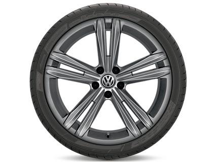 Rueda completa para verano 225/40 R 18 92Y XL, Pirelli Cinturato P7, Sebring, Gris metalizado