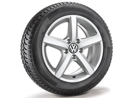 Rueda completa para invierno 195/65 R15 91T, Pirelli Cinturato Winter, Aspen, Plata brillante, derecha