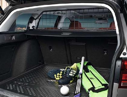 Rejilla de separación Malla de acero, compatible con airbag para cabeza