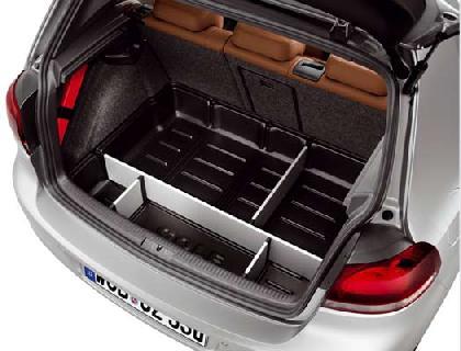 Elemento para maletero con separadores y tapa, para vehículos con superficie de carga básica