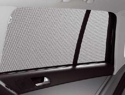 Parasol para cristales laterales ventanillas de puerta trasera, derecha e izquierda, plegables