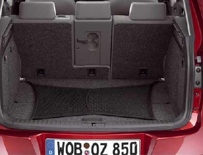 Red de equipaje Compartimento de carga, no conectada con las argollas de amarre