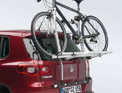 Portabicicletas para el portón trasero 2 bicicletas como máximo