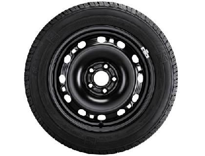 Rueda completa para invierno 215/65 R17 99H, Continental WinterContact TS 850 P SUV, acero. Negro