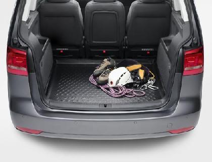 Bandeja para maletero para vehículos de 5 asientos, también de 7 asientos con tercera fila de asientos rebajada