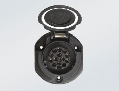 Juego de montaje eléctrico para dispositivo de remolque de 13 polos, dirección a izquierda