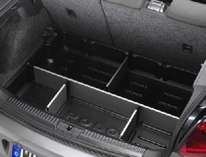 Elemento para maletero con separadores
