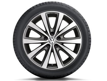 Rueda completa para verano 215/45 R16 86H, Pirelli P7, Syenit, negro