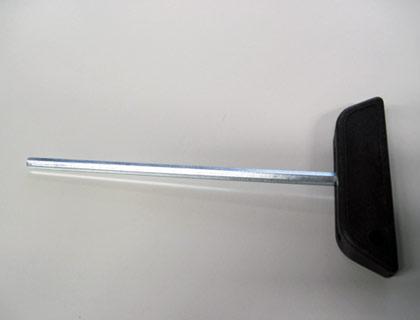 Llave dinamométrica para el soporte del capó del maletero
