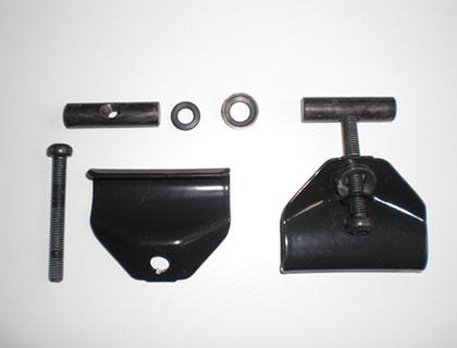Garra de sujeción abajo derecha e izquierda, pieza de servicio 7E0071104