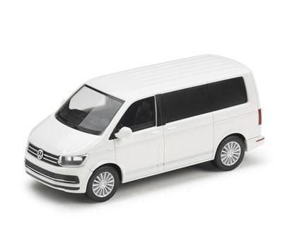 Modelo en miniatura 1:87, T6 Multivan, Blanco Candy