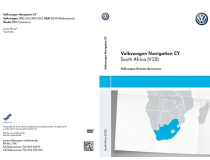 DVD-ROM para sistema de navegación CY, Sudáfrica, (V10)