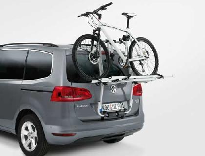 Portabicicletas para el portón trasero máx. 3 bicicletas (60 kg)