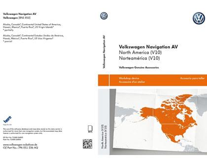 Tarjeta de memoria SD AV, Norteamérica, (V10)