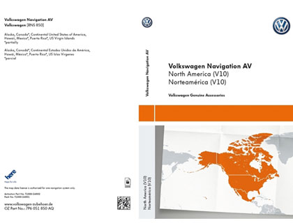 Documento de activación para la funcionalidad de la navegación AV, Norteamérica, (V10)